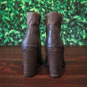 Sam Edelman Shoes - ❌SOLD!❌ NWOT Sam Edelman Leather Chunky Heel Boots